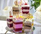 Dessert en coupe