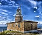 Le phare de Kullen est le plus puissant de tous de la Scandinavie, située à Höganäs, Scanie, Suède
