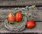 Un nid de Pâques