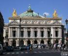 Opéra Garnier, façade