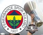 Fenerbahçe Istanbul est le champion de l'Euroligue de basket-ball 2017