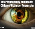 Journée internationale des enfants victimes innocentes de l'agression