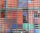 Facade Torre Agbar, Barcelone