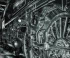 Vieux train à vapeur