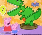 Peppa Pig et le dinosaure