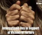 Journée internationale pour le soutien aux victimes de la torture