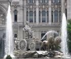 Fontaine de Cybèle, Madrid
