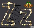 Lettre Z d'étoiles