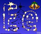 Noël avec la lettre E