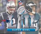 New England Patriots vs Philadelphie Eagles, Super Bowl 2018, US Bank Stadium, Minneapolis, Minnesota, dimanche 4 février 2018