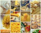 Collage de pâtes