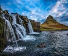 Kirkjufellsfoss, Islande