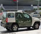 Voiture de police de Dubai