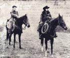 Deux femmes cowboy