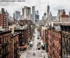 Vue rue à Manhattan