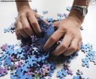 Mélanger les morceaux du puzzle