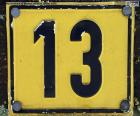 Numéro treize