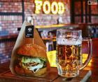Burger et la bière