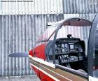 Commandes d'un aviation légère