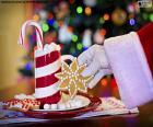 Père Noël et bonbons
