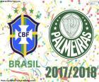 Palmeiras a remporté le titre de champion dans le Brasileirão 2018, son quatorzième titre