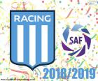 Racing Club, champion 2018-2019