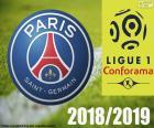 PSG, champion 2018-2019