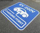 Recharge les voitures électriques