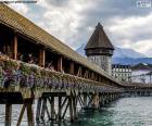 Kapellbrücke, Suisse