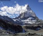 Le Cervin, la Suisse et l'Italie