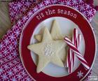 Biscuits et cannes de Noel