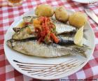 Plat de sardine