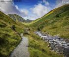 Chemin et ruisseau