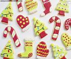 Beaux biscuits de Noël