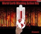 Journée mondiale d'action pour le réchauffement de la Terre