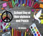 Journée scolaire de la paix et de la non-violence