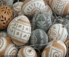Oeufs de Pâques décorés