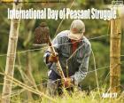 Journée mondiale de lutte paysanne