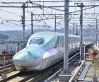 Shinkansen bullet train, Japon