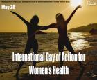 Journée internationale d'action pour la santé des femmes