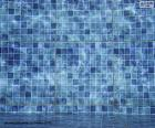 Puzzle Le fond d'une piscine