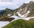 Puzzle Paysage de haute montagne