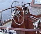 Puzzle La roue du gouvernail d'un voilier