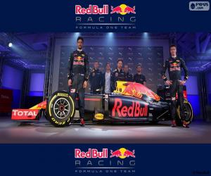 Puzzle Red Bull Racing 2016