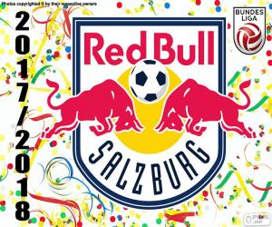 Puzzle Red Bull Salzbourg, Bundesliga 2017-18