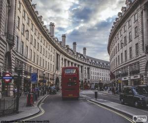 Puzzle Regent Street, Londres