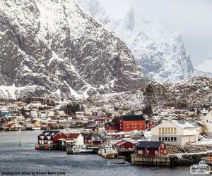 Puzzle Reine, Norvège