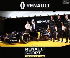 Puzzle Renault Sport F1 team 2016
