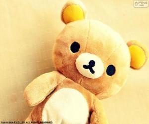 Puzzle Rilakkuma, l'ours de jouet, conçu par Aki Kondo et produit par San-X
