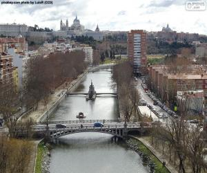 Puzzle Rivière Manzanares, Madrid